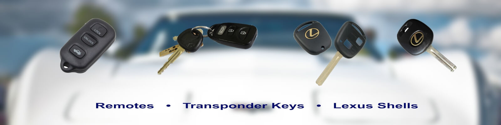 Car Remotes - Keys For Cars Berkeley California (866) 269-5625